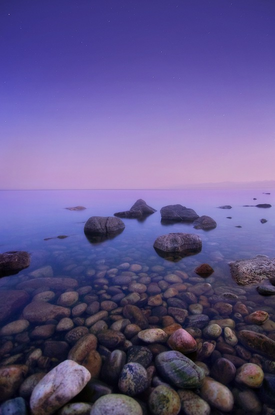 One evening on the shore of Lake Baikal, Russia, photo 7