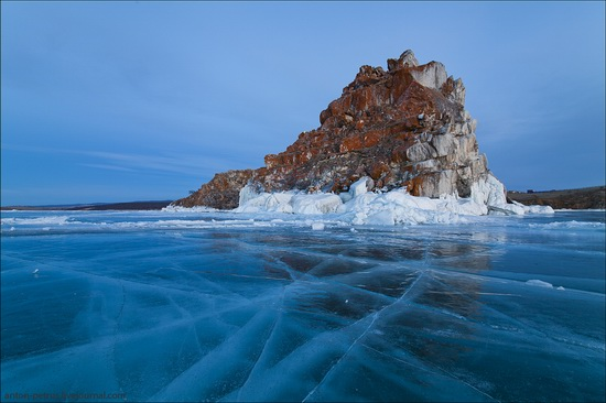Ice fields of Lake Baikal, Russia, photo 4