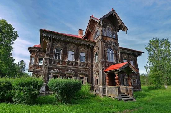 Polyashov's house, Pogorelovo, Kostroma region, Russia, photo 1