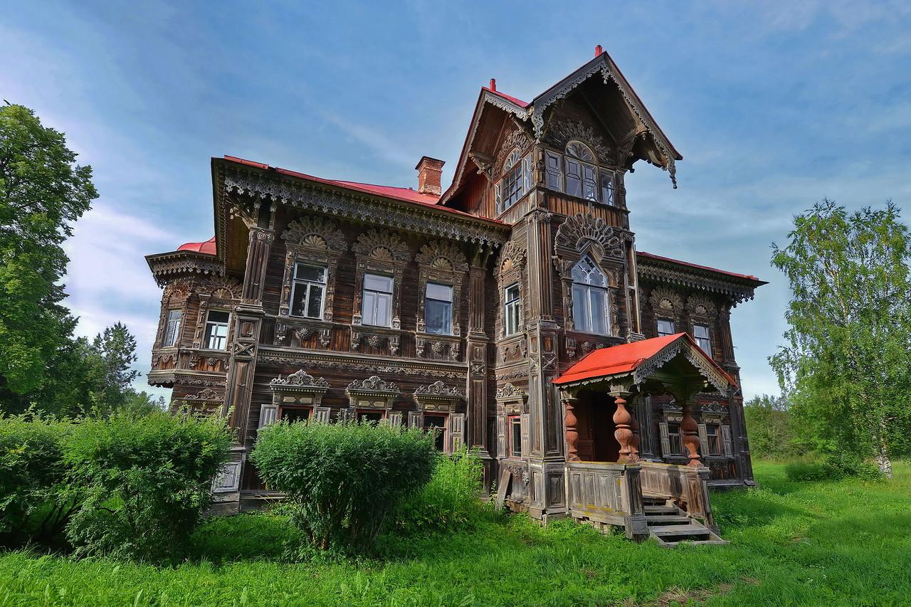 Kostroma Russia  City new picture : polyashov house pogorelovo kostroma russia 1
