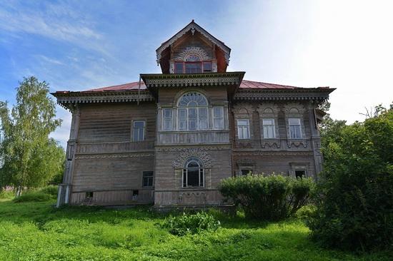 Polyashov's house, Pogorelovo, Kostroma region, Russia, photo 10