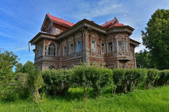 Polyashov's house, Pogorelovo, Kostroma region, Russia, photo 11