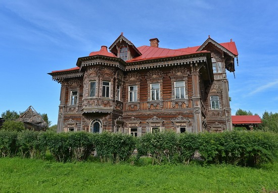 Polyashov's house, Pogorelovo, Kostroma region, Russia, photo 12
