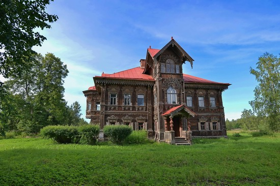 Polyashov's house, Pogorelovo, Kostroma region, Russia, photo 2