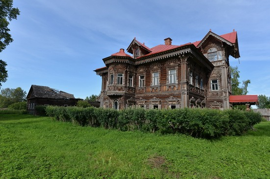 Polyashov's house, Pogorelovo, Kostroma region, Russia, photo 3