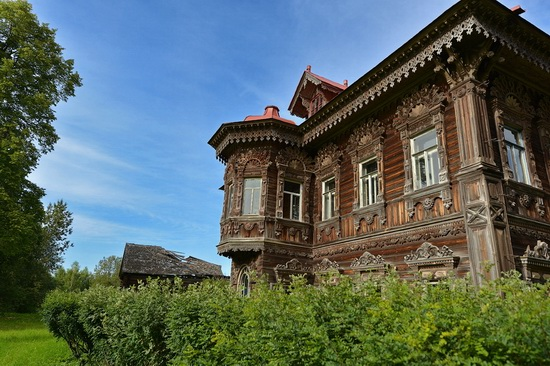 Polyashov's house, Pogorelovo, Kostroma region, Russia, photo 4