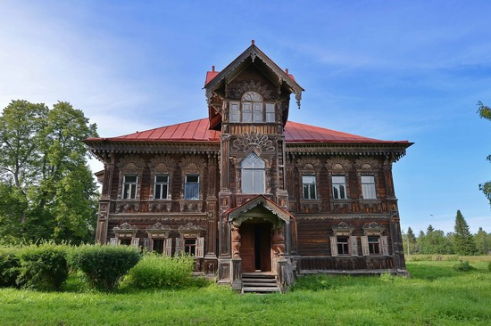 Polyashov's house, Pogorelovo, Kostroma region, Russia, photo 5