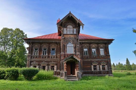 Polyashov's house, Pogorelovo, Kostroma region, Russia, photo 5