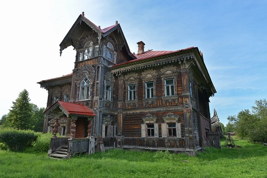 Polyashov's house, Pogorelovo, Kostroma region, Russia, photo 8