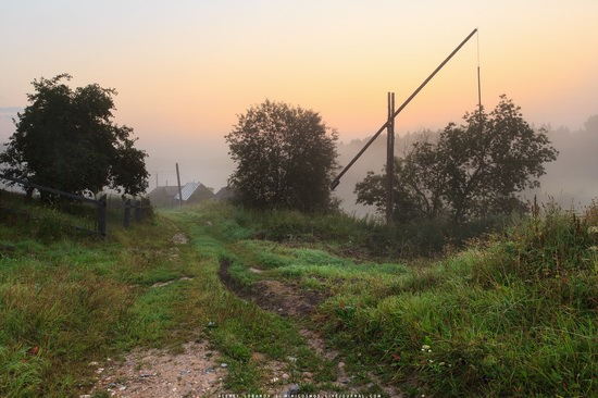 Rural landscapes, Yaroslavl region, Russia, photo 1