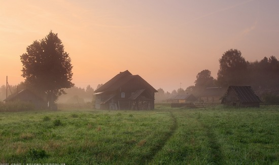 Rural landscapes, Yaroslavl region, Russia, photo 11