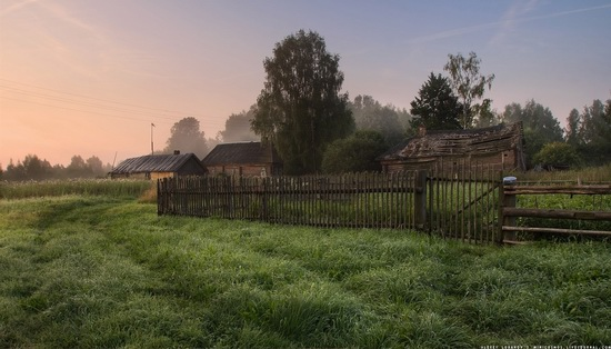 Rural landscapes, Yaroslavl region, Russia, photo 12