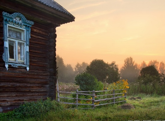 Rural landscapes, Yaroslavl region, Russia, photo 14