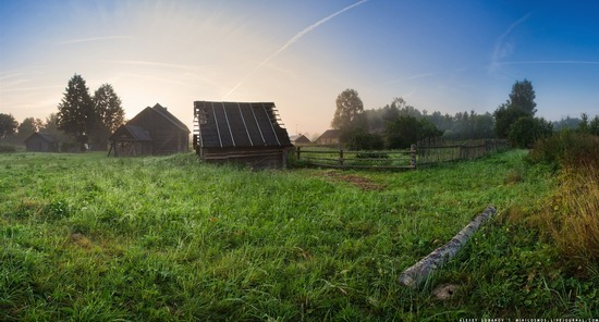 Rural landscapes, Yaroslavl region, Russia, photo 16
