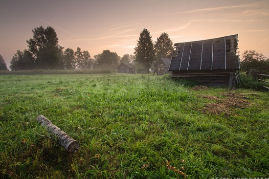 Rural landscapes, Yaroslavl region, Russia, photo 18
