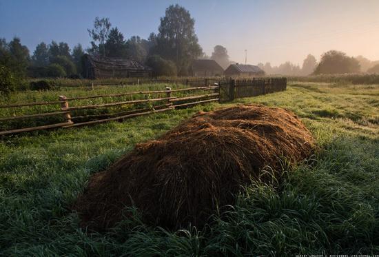 Rural landscapes, Yaroslavl region, Russia, photo 19