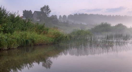 Rural landscapes, Yaroslavl region, Russia, photo 2