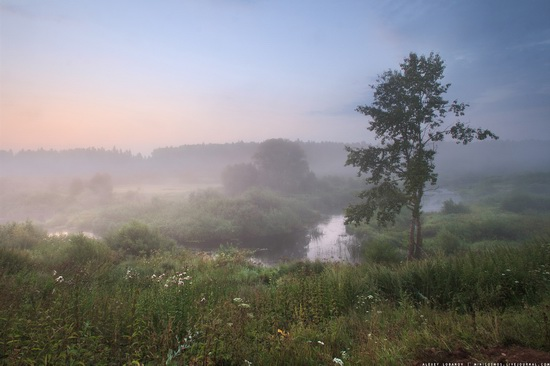 Rural landscapes, Yaroslavl region, Russia, photo 3