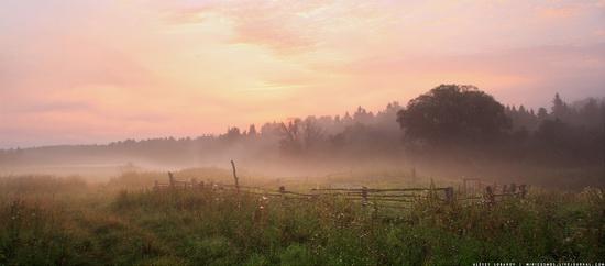 Rural landscapes, Yaroslavl region, Russia, photo 5