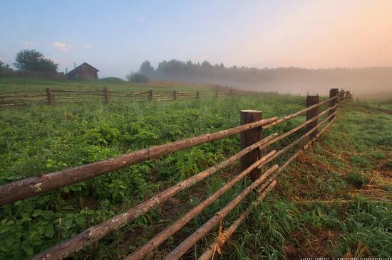 Rural landscapes, Yaroslavl region, Russia, photo 6
