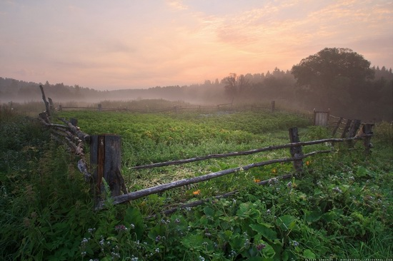 Rural landscapes, Yaroslavl region, Russia, photo 7