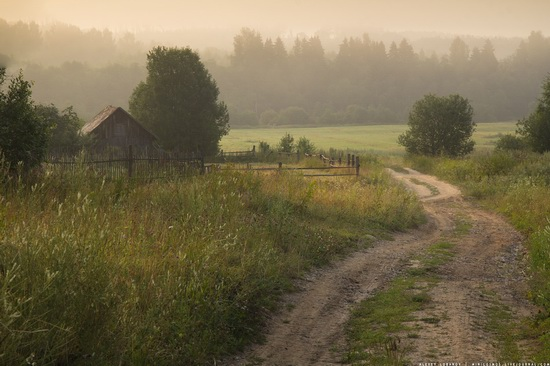 Rural landscapes, Yaroslavl region, Russia, photo 8