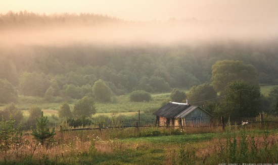 Rural landscapes, Yaroslavl region, Russia, photo 9
