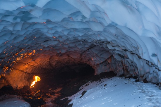 Snow caves, Kamchatka, Russia, photo 13