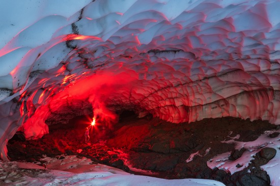 Snow caves, Kamchatka, Russia, photo 14