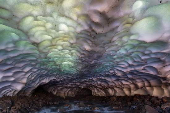 Snow caves, Kamchatka, Russia, photo 5