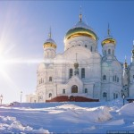 Winter in Belogorskiy St. Nicholas Monastery