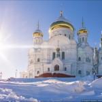 Winter in Belogorskiy St. Nicholas Monastery