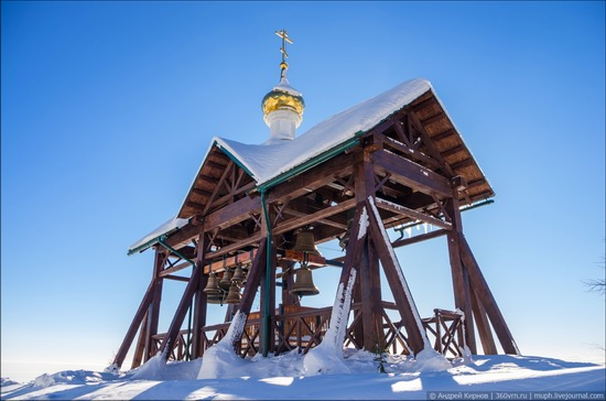 Winter in Belogorskiy monastery, Perm region, Russia, photo 10