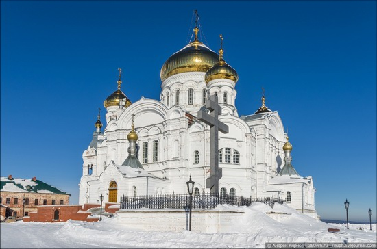 Winter in Belogorskiy monastery, Perm region, Russia, photo 11