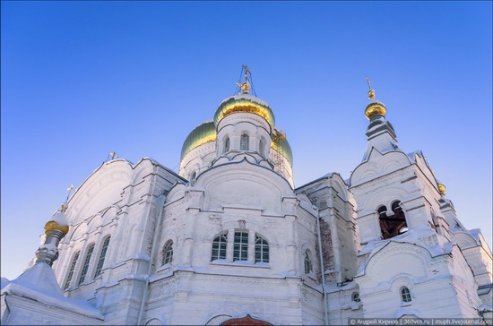 Winter in Belogorskiy monastery, Perm region, Russia, photo 12