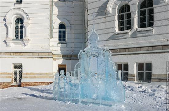 Winter in Belogorskiy monastery, Perm region, Russia, photo 13