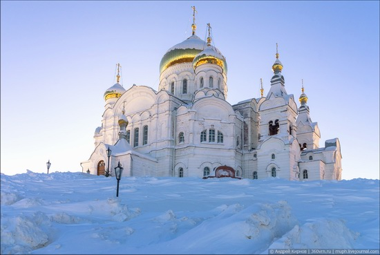 Winter in Belogorskiy monastery, Perm region, Russia, photo 14