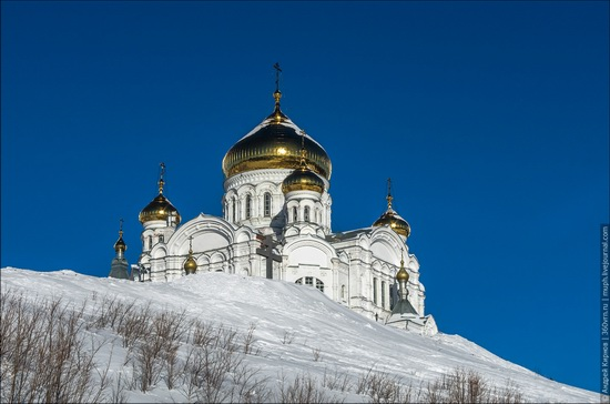 Winter in Belogorskiy monastery, Perm region, Russia, photo 2