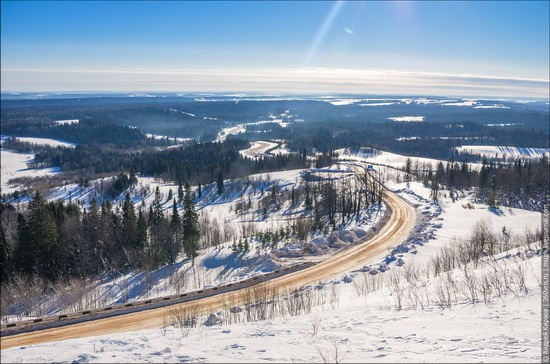 Winter in Belogorskiy monastery, Perm region, Russia, photo 4