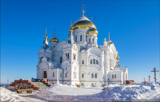 Winter in Belogorskiy monastery, Perm region, Russia, photo 5