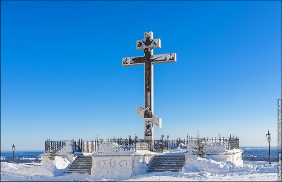 Winter in Belogorskiy monastery, Perm region, Russia, photo 6