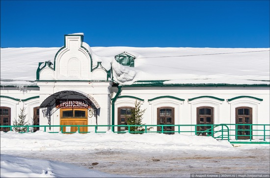 Winter in Belogorskiy monastery, Perm region, Russia, photo 8
