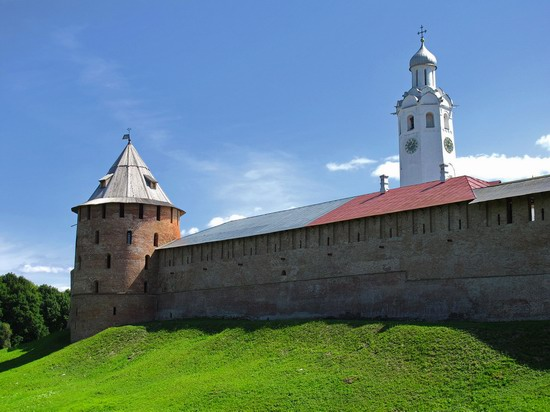 Ancient monuments in Veliky Novgorod, Russia, photo 1