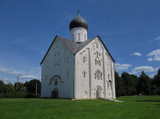 Ancient monuments in Veliky Novgorod, Russia, photo 10