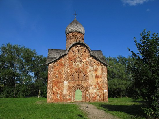 Ancient monuments in Veliky Novgorod, Russia, photo 12