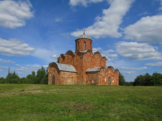 Ancient monuments in Veliky Novgorod, Russia, photo 15