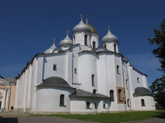 Ancient monuments in Veliky Novgorod, Russia, photo 3