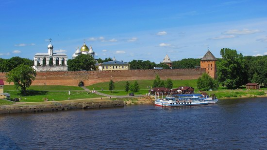 Ancient monuments in Veliky Novgorod, Russia, photo 4