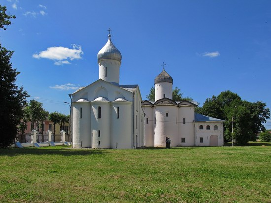 Ancient monuments in Veliky Novgorod, Russia, photo 6