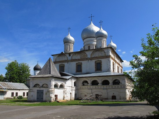 Ancient monuments in Veliky Novgorod, Russia, photo 8